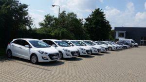 Samochody wypożyczalni Eco Rental Białystok