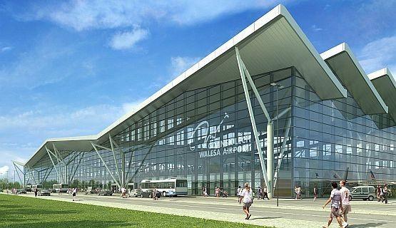 Zdjęcie portu lotniczego w Gdańsku