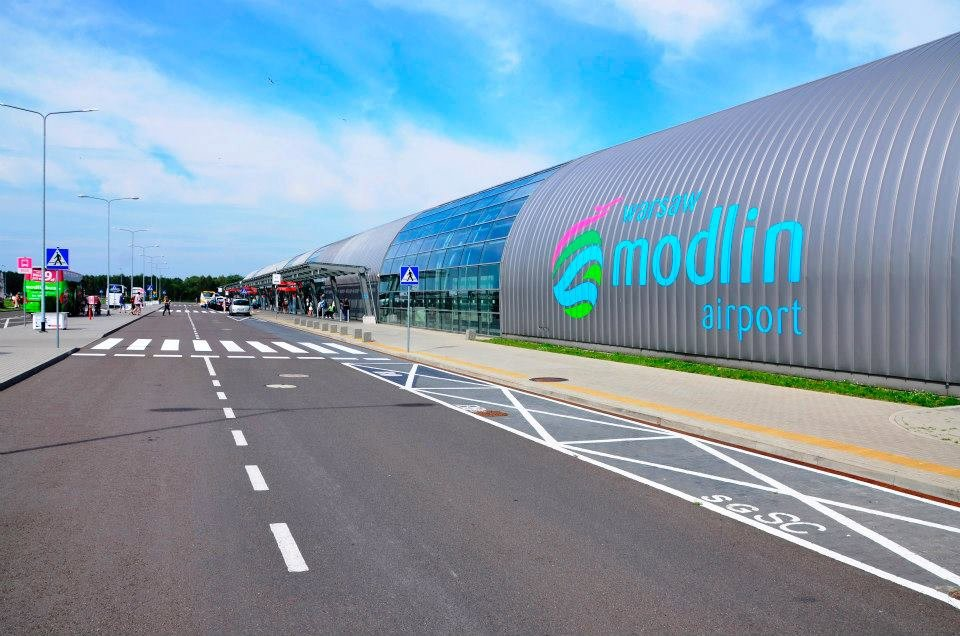 Zdjęcie portu lotniczego Warszawa-Modlin