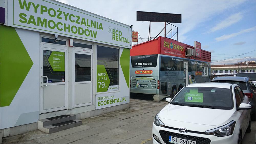 Budynek Eco Rental PKS Białystok