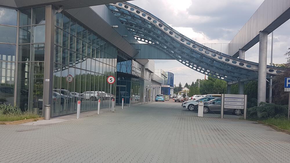 Zdjęcie siedziby głównej Eco Rental w Warszawie